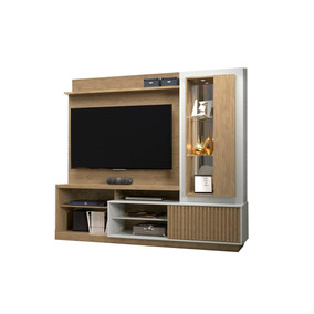 deaf5987d6 Estante Home Theater Santorini Tre Bp Linea Brasil - Rack no Mercado ...