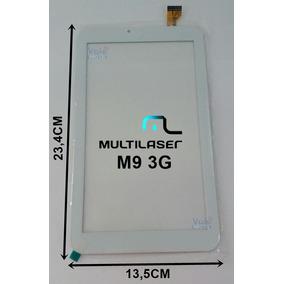 Tela Touch Tablet Multilaser M9 3g Quad Core Branco Envio Já