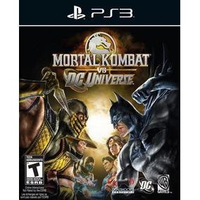 Mortal Kombat Vs Dc Universe Ps3 Digital Envio Na Hora !!!