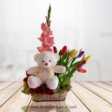 Delivery De Flores En Lima Arreglo Floral Con Tulipanes