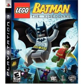 Lego Batman: The Videogame - Ps3 - Lacrado + Frete Grátis!