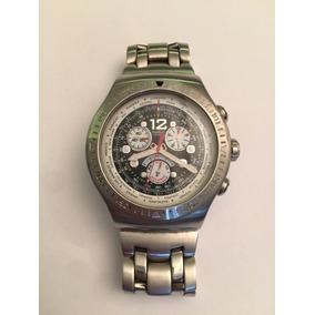 e562698d97e Swatch Irony Pulseira Em Aço Preta - Relógios no Mercado Livre Brasil