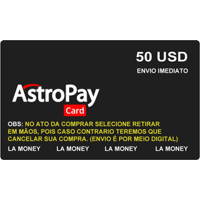 Astropay Card 50 Usd Dolar