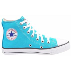 32f40eb66 All Star Azul Turquesa Feminino Converse - Tênis Textil no Mercado ...