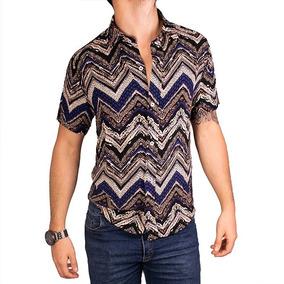 d8834966c0187 Camisa Hawaiana Hombre - Camisas Manga Corta de Hombre en Mercado ...