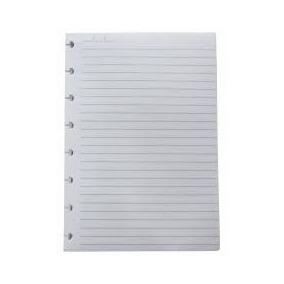 Refil A5 Pautado 90gr - Caderno Inteligente