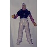 Figura Wwe Básica Luchador Rey Misterio Playera Negra Mattel