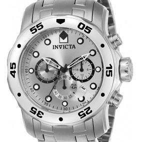 14549131d7f Relogio Invicta Original Prata Masculino - Relógio Invicta Masculino ...