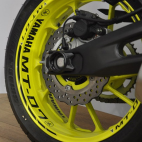 Friso Refletivo Adesivo Roda Interno Moto Yamaha Mt07 Mt M4