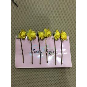 Peinetas De Flores Hechas A Mano