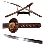 Lyuesword Espada Samurai Hecha A Mano Japonesa Katanan Espa