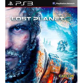 Lost Planet 3 Ps3 Original Mídia Física Em Português