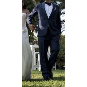 Traje Smoking Azul Trajes - Trajes para Hombre a91c59031d3
