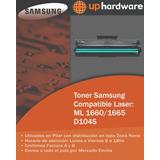 Toner Samsung Compatible Laser Ml 1660 / 1665 D104s
