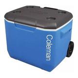 Caixa Termica Signature Cooler Sport Rodas 60qt 56l Coleman
