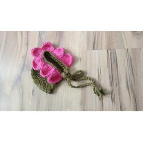 Touca Flor De Crochê Rosa Margarida Girassol Violeta - Acessórios da ... 373657e0871