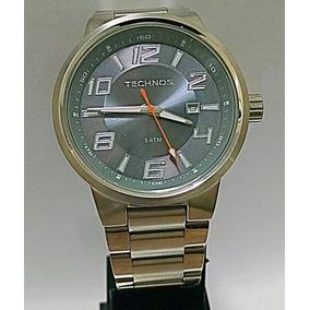 ae0f9ae87dc Rio de Janeiro · Relógio Technos Masculino Redondo Todo De Aço 2115ga 1l