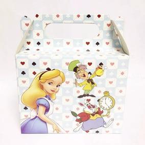 16 Caixinha Surpresa Lembrancinha Alice No Pais Maravilhas