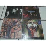 Van Halen E David Lee Roth - 7 Lps Raros