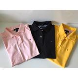 Camisa Polo Feminina Tommy Hilfiger Xs (pp) Original no Mercado ... d613222c6b92e