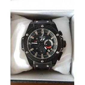776daf4d423 Relogio Hublot F1 Luciano Huck - Relógios De Pulso no Mercado Livre ...