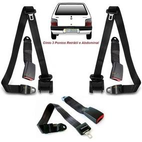 Kit Universal Cinto Segurança Do Uno 98 - Acessórios para Veículos ... 8c67d91ccc8a1