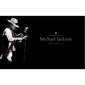 Michael Jackson Poster Gigante Tamanho 100 X 70 Cm