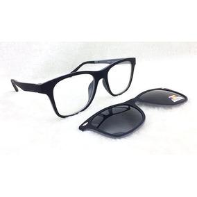 Armação De Óculos P  Grau E Sol Clip On 2 Em 1 S026 5de6cde2ff