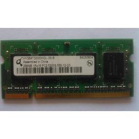 Memoria Ram Laptop 256gb Ddr2 Pc2-4200s-444-12