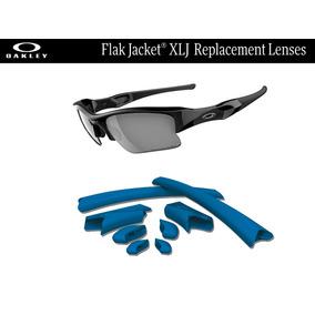 Gomas De Repuesto Para Oakley Flak Jacket Xlj Color Azul