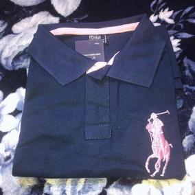 Camisa Polo Feminina - Ralph Lauren - Gg (modelagem Pequena) 04ea9a5b787