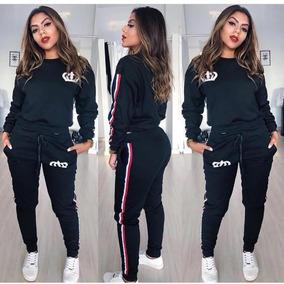0ddc0f4129753 Conjunto Moletom Adidas Lançamento Moda Instagram Panicat - Calçados ...