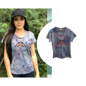 bcd7390d6 Camiseta T Shirt Estampa Unicórnio Paetê Renner R 10 Frete ...