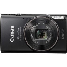 Canon Powershot Elph 360 20.2-mp Digital Camera - Black