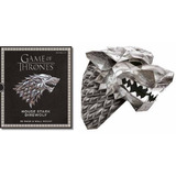 Game Of Thrones Mask: House Stark Direwolf (libro En Inglés