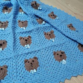 003f989b68d53 Manta Em Crochê Para Bebê - Roupas de Bebê no Mercado Livre Brasil
