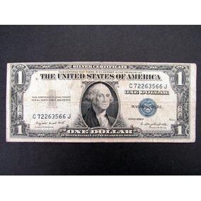 Cédula Antiga De1 Dólar Raro Colecão Bc Séries 1935 G Lote57