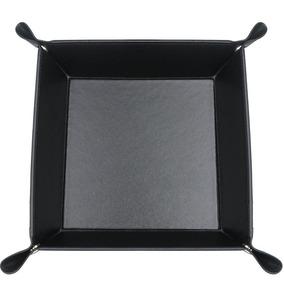 2.black - Pu Cuero Cabecera Almacenamiento Organizador -8319