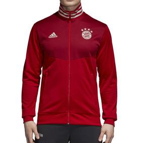 Campera Rompeviento adidas Bayern Munich 3s Hombre Rj/bd