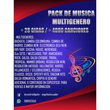 Música De Todo Genero Para Dj U Ocasión 28gb 4000 Canciones