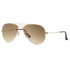 27e6578f5120b Oculos Sol Ray Ban Aviador Rb3025 001 51 55mm Dourado Marrom