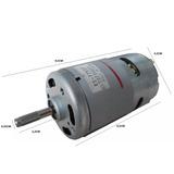c28e847749f Motor Eletrico 12v 19500 Rpm 230w Projeto Furadeira