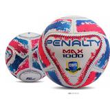 Bola Penalty Futsal Max 1000 Termotec Cbfs Bco/rsa