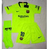 Kit Uniforme Barcelona Verde - Futebol no Mercado Livre Brasil b49753487bd91