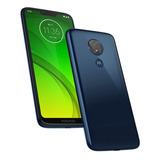 Smartphone Moto G7 Power Tv 32gb 3gb Ram 6.2 12mp Azul Navy