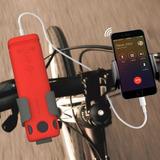 Caixa Som Bluetooth Lanterna E Suporte Guidon Bicicleta Bike