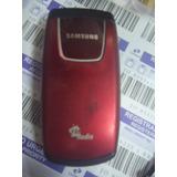 Celular Samsung Sgh C276 Clar Funcionado Sem Carregador N806