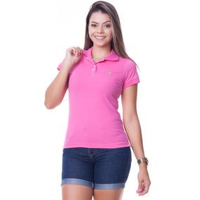 Camisa Polo Feminina - Pólos Manga Curta Femininas no Mercado Livre ... 735e3780d1a