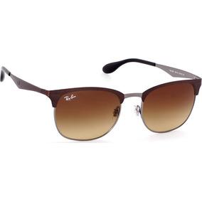 90c4160ffaa73 Lentes Ray-ban Rb3538 188 13 Clubmaster Café Unisex Original