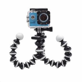 Tripé Articulado Octopus Para Câmeras Sj4000/5000/6000